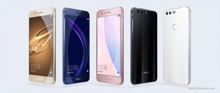 Huawei Honor 8 chính thức ra mắt: Thiết kế kim loại và kính, trang bị camera kép, màn hình cong 2.5D