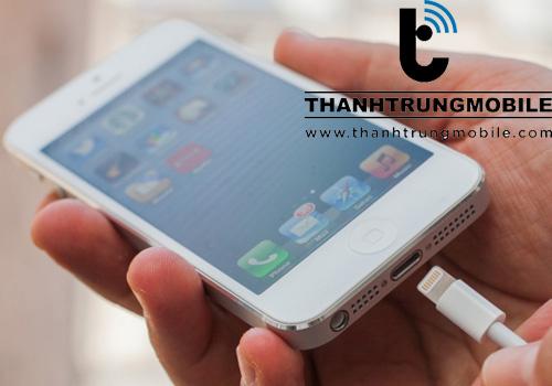 sửa iPhone 6S, 6S Plus không nhận sạc