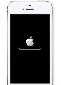 Sửa iPhone 5, 5S treo táo, treo cáp đĩa