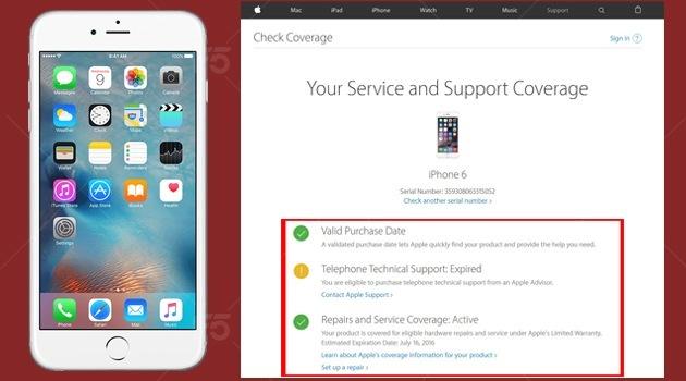 Kiểm tra ngày kích hoạt Iphone 2