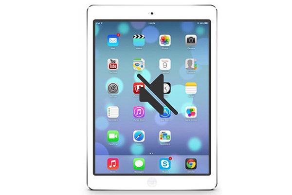 Loa iPad bị rè