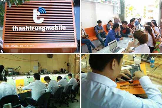 trung tâm sửa chữa điện thoại Thành Trung Mobile
