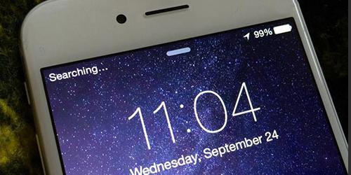 Fix lỗi iPhone 7 không lên sóng và báo đang tìm kiếm