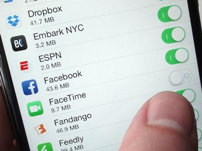 Làm sao để bật tắt 3G trên iphone một cách nhanh chóng?