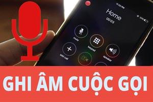 Hướng dẫn cách ghi âm cuộc trên iPhone