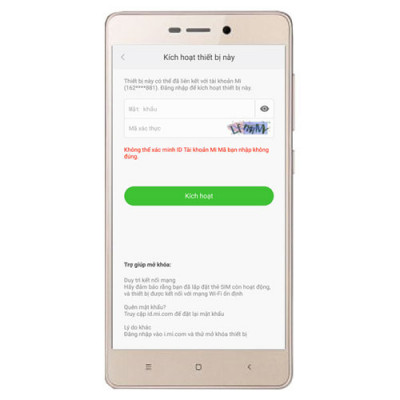 Phá - Mở khóa - Xóa tài khoản Mi Cloud Xiaomi Redmi 3X