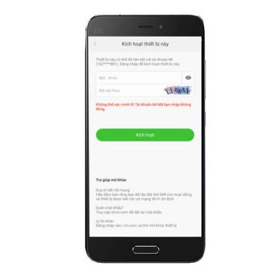Gỡ bỏ - Remove - Xóa tài khoản Mi Cloud Xiaomi Mi 5
