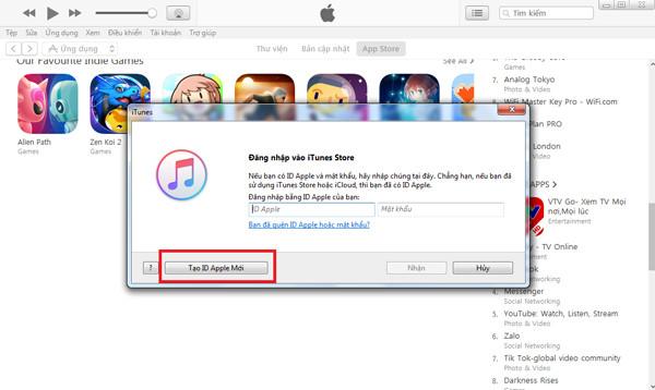 cách tạo ID Apple nhanh chóng và miễn phí - bước 3