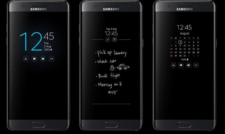 Cách cài đặt hiển thị đồng hồ khi tắt màn hình Samsung