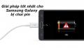 Giải pháp tốt nhất dành cho Samsung Galaxy Note 5 bị chai pin