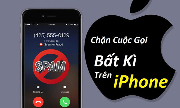 Cách Chặn Cuộc Gọi Bất Kì Trên iPhone
