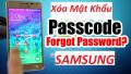 Cách Xóa Mật Khẩu Màn Hình Khóa Samsung