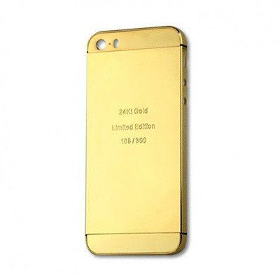 Thay vỏ iPhone 5 - 5S Vàng 24k (Champagne)