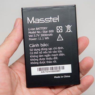 Thay pin Masstel Star600