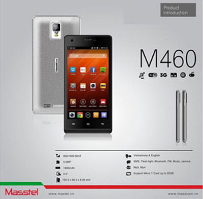 Thay IC Wifi Masstel M460