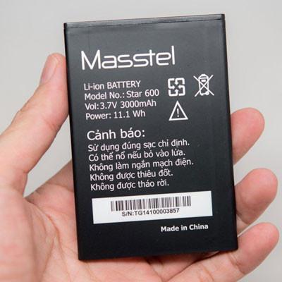 Thay pin Masstel Star 500