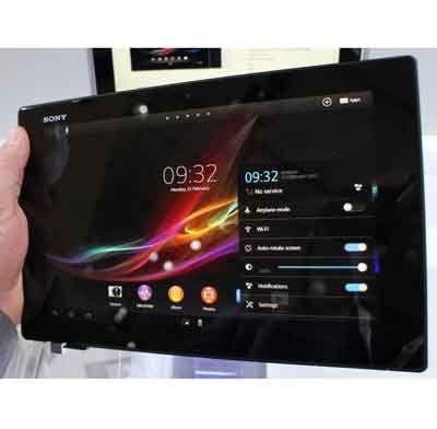 Thay mặt kính Sony Xperia Tablet Z