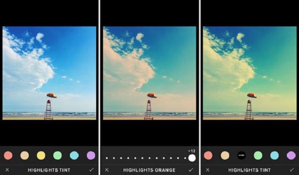 App chỉnh sửa ảnh VCSO Cam
