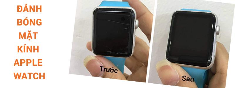 Đánh bóng mặt kính Apple Watch