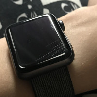 Đánh bóng, xóa trầy mặt kính Apple Watch 1, 2, 3, 4, 5, 6