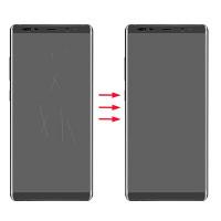 Xóa bỏ vết trầy xước mặt kính, kính lưng Samsung Galaxy Note 8