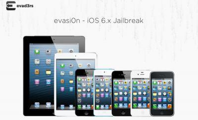 Hướng dẫn Jailbreak iphone iOS 6.X Với Evasi0n