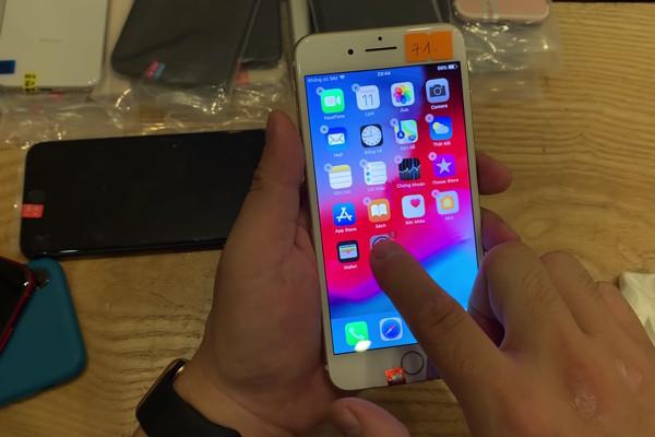Nguyên nhân màn hình iphone 6 bị loạn cảm ứng và cách khắc phục