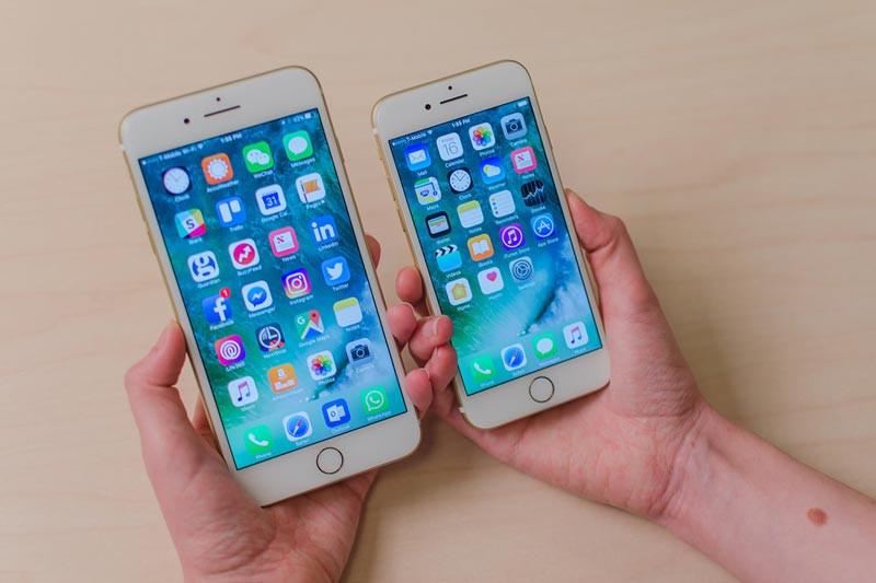 Kích thước màn hình iPhone 7 thường bao nhiêu inch