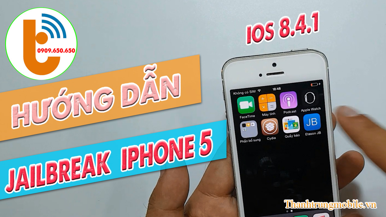 Hướng Dẫn Jailbreak iOS 8.4.1 cho iPhone 5