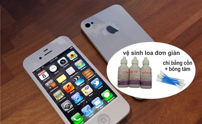 Mách bạn cách vệ sinh loa iPhone chuẩn, xử lý hoàn toàn lỗi loa iPhone