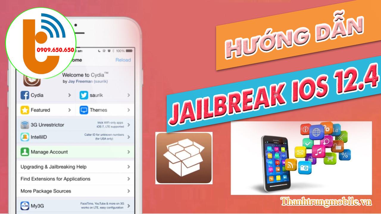 Hướng dẫn Jailbreak IOS 12.4 không cần máy tính bằng Unc0ver