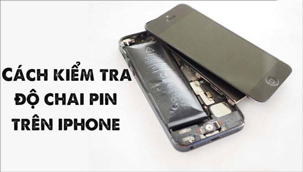 Hướng dẫn cách kiểm tra độ chai pin iPhone 7, 7 Plus mới nhất