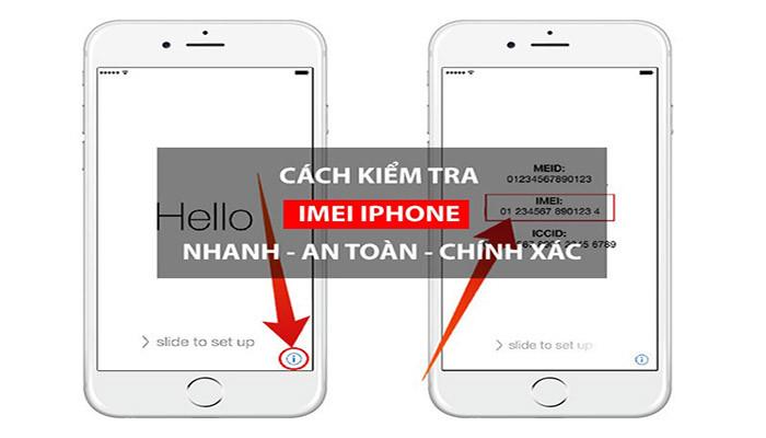 Kiểm tra IMEI iPhone đơn giản, dễ làm, chính xác 100%