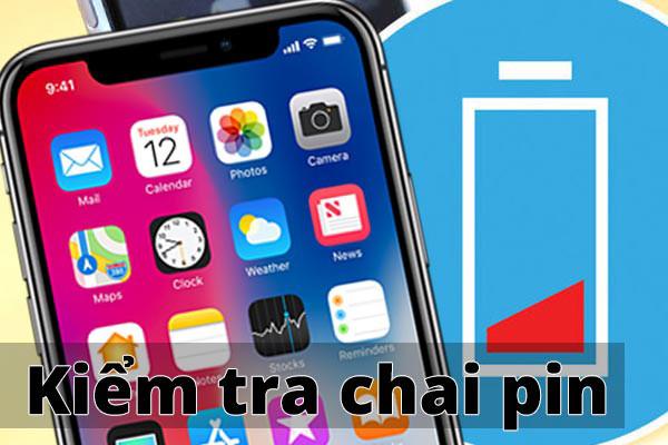 Hướng dẫn kiểm tra độ chai pin iPhone đơn giản với 3 cách sau