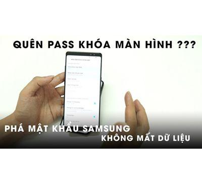 Dịch vụ phá mật khẩu, mở khóa hình vẽ Samsung A8 | A8S | Plus | Star
