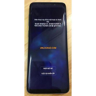 Phá mật khẩu, mở khóa hình vẽ Samsung Galaxy S9, S9 Plus