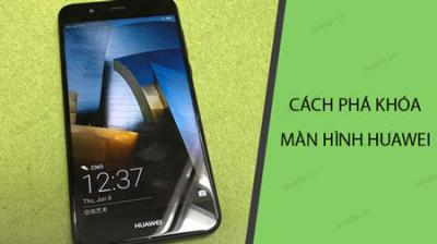 Mở khóa bảo vệ, mở khóa hình vẽ Huawei
