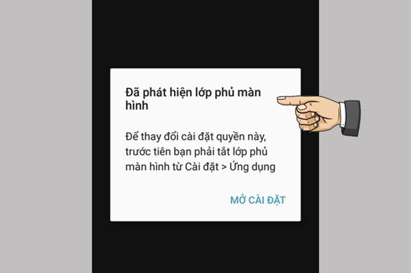 Cách tắt lớp phủ màn hình Samsung, Oppo