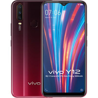 Thay mặt kính Vivo Y12