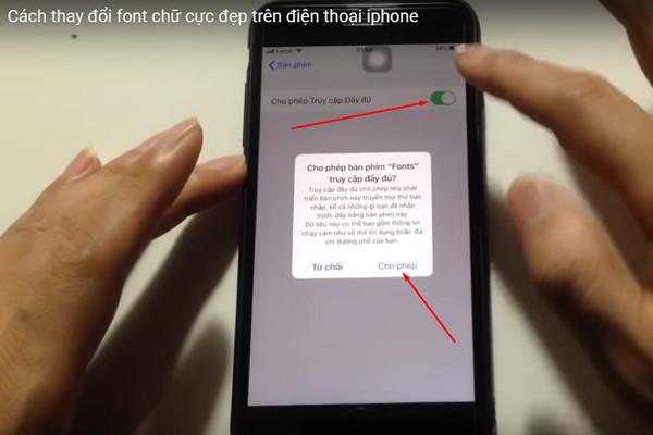 Cách thay đổi Font chữ trên iPhone đơn giản chỉ với vài thao tác