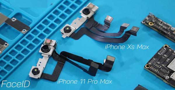 so-sanh-face-id-iphone-11-pro-max-va-iphone-xs-max
