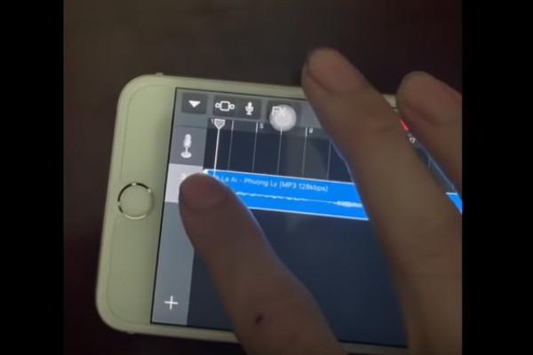 Hướng dẫn tạo nhạc chuông bằng garageband và document cho iPhone