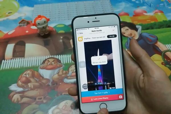 cách cài video làm màn hình khóa cho iPhone - bước 10