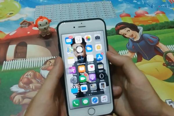 cách cài video làm màn hình khóa cho iPhone - bước 1