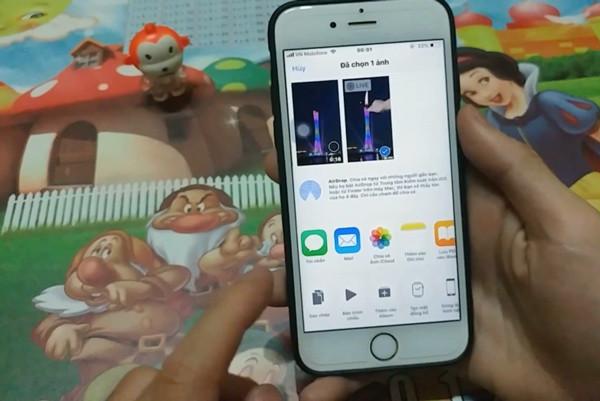 cách cài video làm màn hình khóa cho iPhone - bước 12