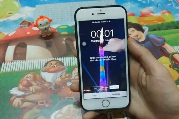 cách cài video làm màn hình khóa cho iPhone - bước 13