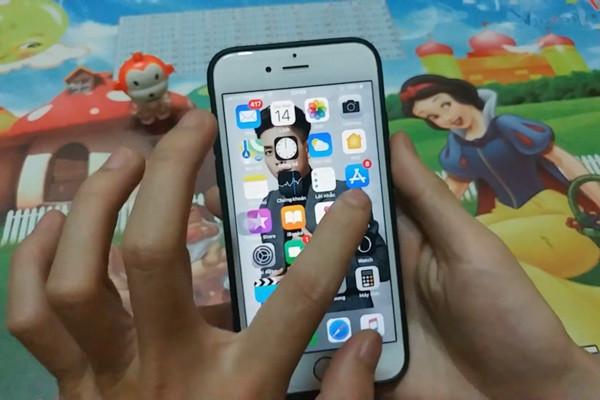 cách cài video làm màn hình khóa cho iPhone - bước 2