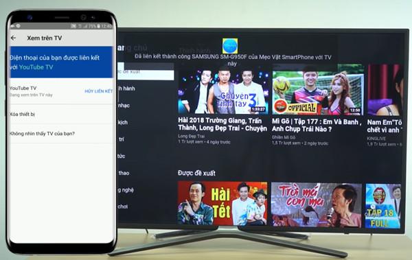 cách kết nối điện thoại iPhone với tivi Asanzo qua Youtube - 11