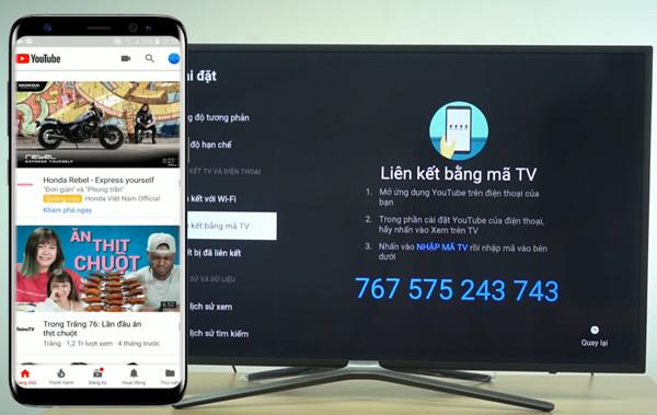cách kết nối điện thoại với tivi Asanzo qua Youtube - 6
