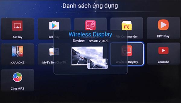 cách kết nối điện thoại iPhone với tivi Asanzo qua wifi - 2
